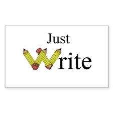 Just Write Decal