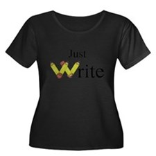 Just Write Plus Size T-Shirt