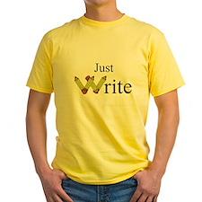 Just Write T-Shirt