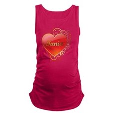 Tania-Valentines Maternity Tank Top