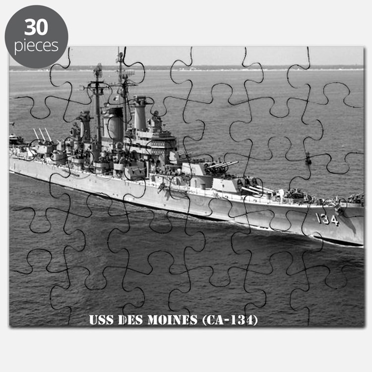 dmoines framed panel print Puzzle