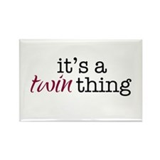 It's a Twin Thing - Rectangle Magnet (100 pack)