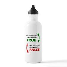 truefalse Water Bottle