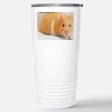Hamster calendar cover Stainless Steel Travel Mug