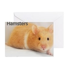 Hamster calendar cover Greeting Card