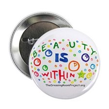 """Beauty Is Within"" 2.25"" Button (10 pack)"
