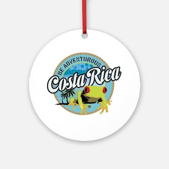 Costa Rica Ornament (Round)