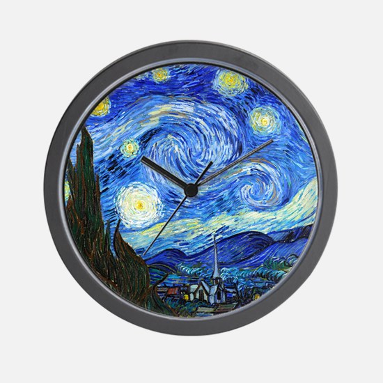 12mo VG Starry Wall Clock