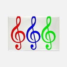 MUSIC V Rectangle Magnet