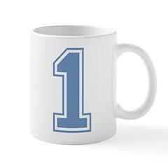 Blue #1 Mug