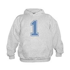 Blue #1 Hoody