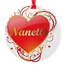Nanette-Valentines Ornament