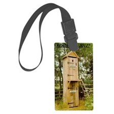 politician  voters outhouse larg Luggage Tag