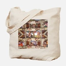 sistine-chapel-tile Tote Bag
