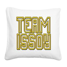 teamVRupsidedwn Square Canvas Pillow