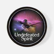 Undefeated Spirit Wall Clock