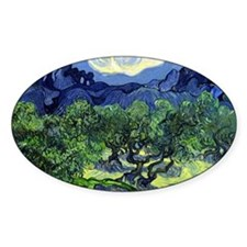 12mo VG Olive Trees Decal