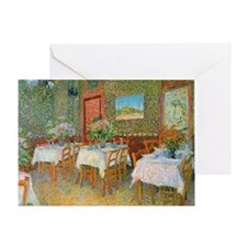 12mo VG Restaurant Greeting Card