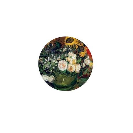 12mo VG RosesSun Mini Button