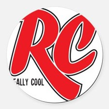 RC_really_cool_sweatshirt Round Car Magnet