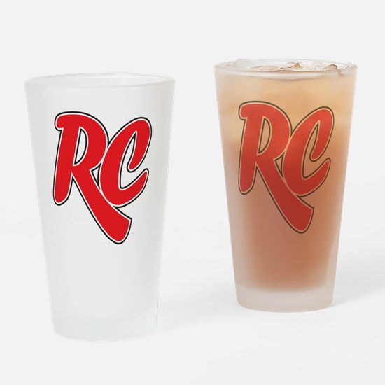 RC_really_cool_white_sweatshirt Drinking Glass