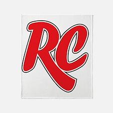 RC_really_cool_white_sweatshirt Throw Blanket
