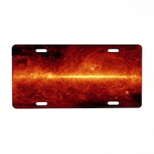 Laptop Skin - Galactic Dust Aluminum License Plate