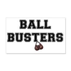BALL BUSTERS Wall Decal