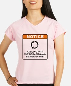 Librarian_Notice_Argue_RK2 Performance Dry T-Shirt