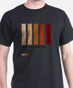 my-cuppa-tea-colour-match-palette T-Shirt