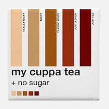 my-cuppa-tea-colour-match-palette Tile Coaster