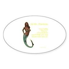 Mermaids - and the theory of evolution Decal