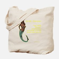 Mermaids - and the theory of evolution Tote Bag