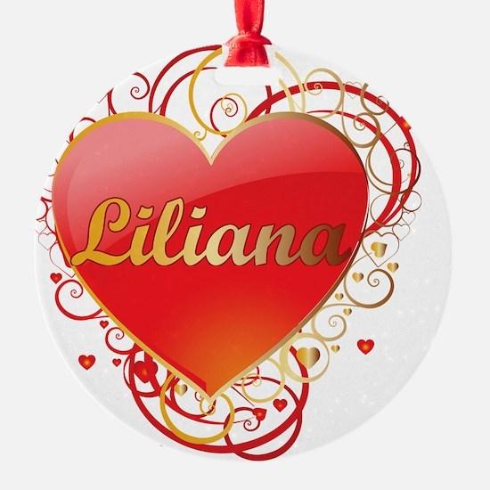 Liliana-Valentines Ornament