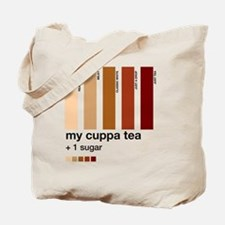my-cuppa-tea-colour-match-palette1 Tote Bag