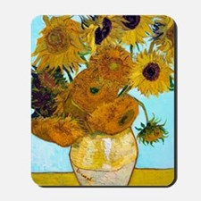 V1 VG Sunflowers Mousepad
