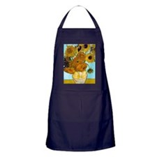 V1 VG Sunflowers Apron (dark)