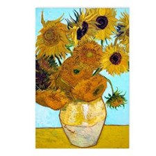 V1 VG Sunflowers Postcards (Package of 8)