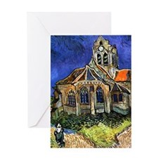 V7 VG Auvers Greeting Card