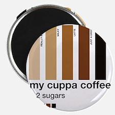my-cuppa-coffee-2-sugars Magnet