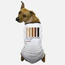 my-cuppa-coffee-2-sugars Dog T-Shirt