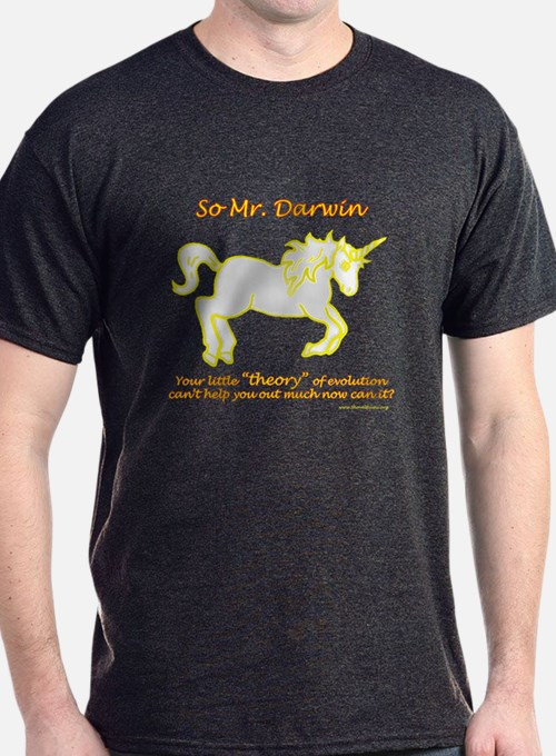 Unicorns - and the theory of evolution T-Shirt
