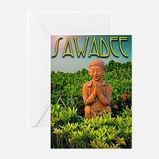 sawadee1 Greeting Card