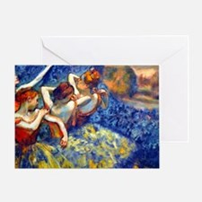 12mo Deg BlueRed Greeting Card