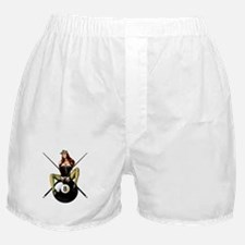 Cute Billiards Boxer Shorts