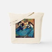 12mo Deg Blue Dance Tote Bag
