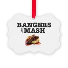 BANGERS AND MASH Ornament