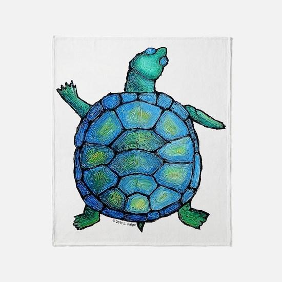 turtleboogie Throw Blanket