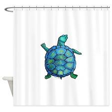turtleboogie Shower Curtain