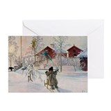 Carl larsson Greeting Cards